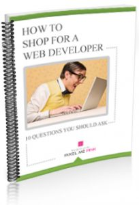 how to shop for a web developer